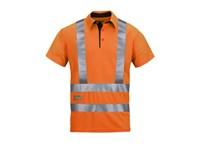2743 A.V.S. Poloshirt High Visibility, Klasse 2/3